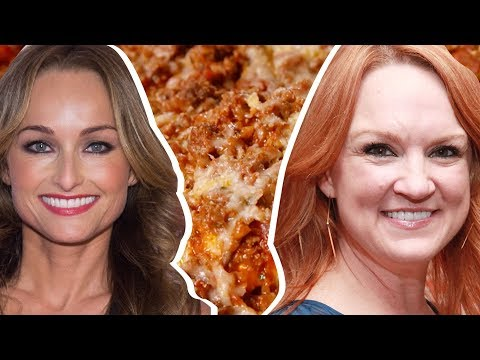 Giada De Laurentiis Vs. Ree Drummond: Whose Lasagna Is Better? | Celebrity Snackdown | Delish