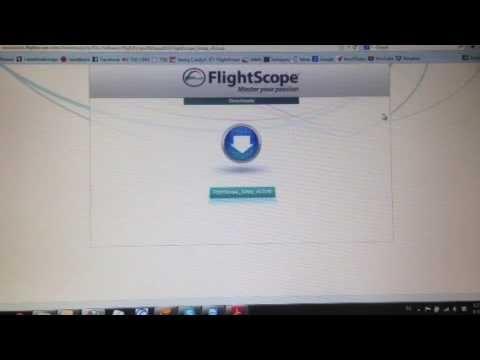 FlightScope X2 / v8.0 software download