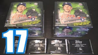 UNBOXING 2017 TOPPS SERIES 2!   Opening Packs #17