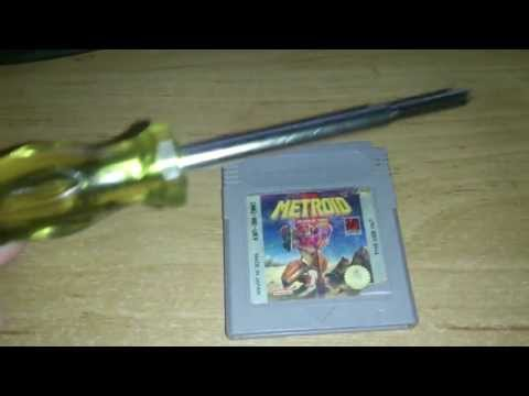 Nintendo Game Cartridge Battery leakage corrosion and removal
