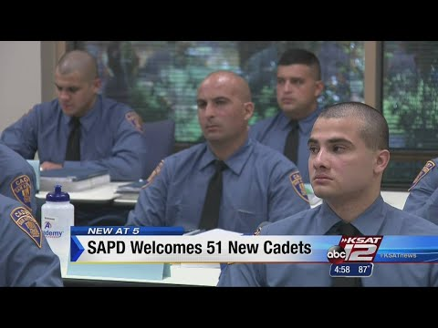 VIDEO: SAPD welcomes 51 new cadets