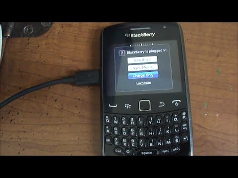 Tech Tip #44 Blackberry - How to transfer pictures from Blackberry to PC