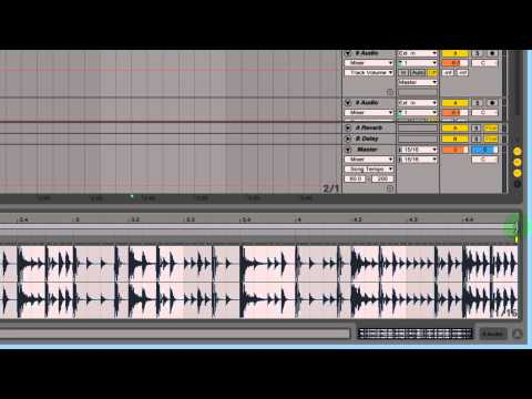 Ableton - Changing Sample Speed While Maintaining Pitch