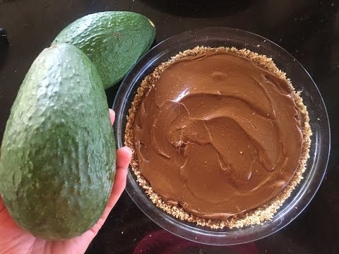 Avocado chocolate pie recipe