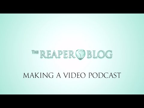 How to make a simple video of your podcast, song or album