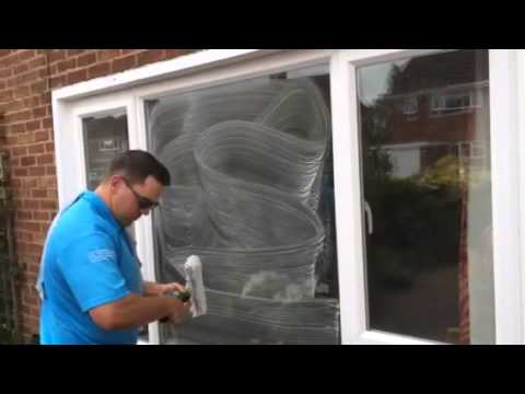 How to get paint off glass