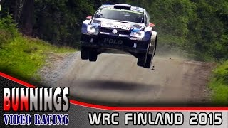 [HD] WRC Rally Finland 2015 - @BunningsVideo