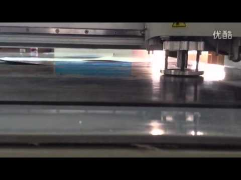 rubber gasket CNC cutting table making production machine