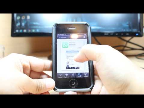 WhatsApp Messenger Install to iPhone 5, 4S, 4, 3Gs