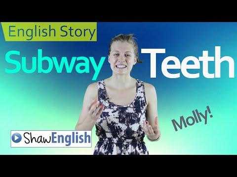 English Story: Korean Subway Teeth