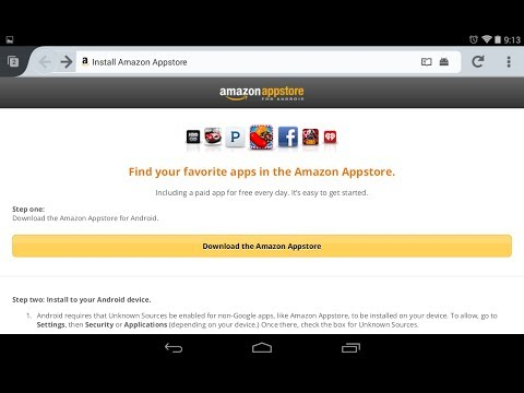 How to install Amazon Appstore on Android Device quickly, safely, and easily!