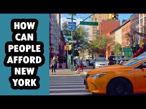 How Can People Afford to Live in NYC?