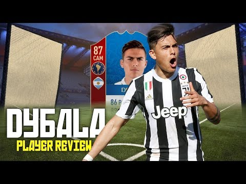 FIFA 18 - WC DYBALA (87) PLAYER REVIEW