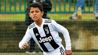 Cristiano Ronaldo JR. Football Plays: Skills, Goals, Freekick & Tricks