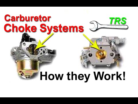 How Carburetor Choke Excess Fuel Works in 2 stroke cycle/4 stroke cycle