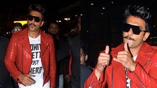 Ranveer Singh's CRAZY DANCE on PLANE | Simmba shoot wrap up