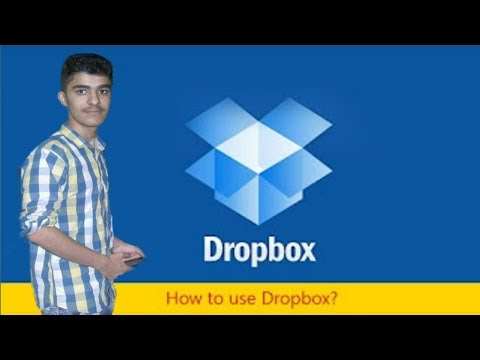 How to save your pictures videos on Dropbox - android Hindi/urdu