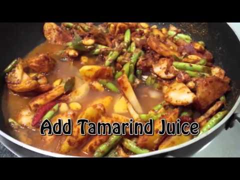 Karuvodu Kolambu (Salt Fish Curry) in just 20 minutes