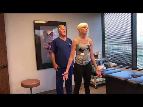 Future Chiropractor Adjusted By Your Houston Chiropractor Dr Gregory Johnson