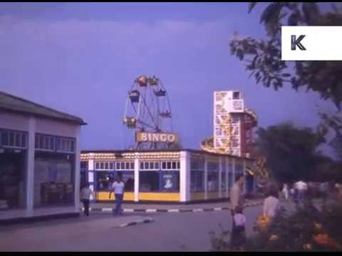 1970s Butlins Family Holiday, 16mm Colour Home Movies, UK
