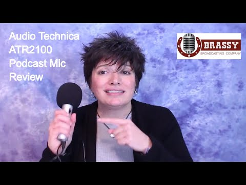 Podcasting Microphone Audio Technica ATR2100 Review