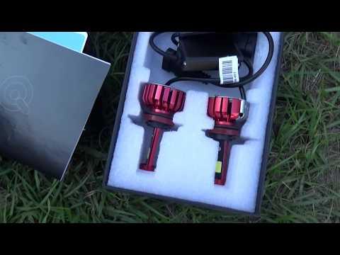 LED Headlight Install for Kia Sorento 2012