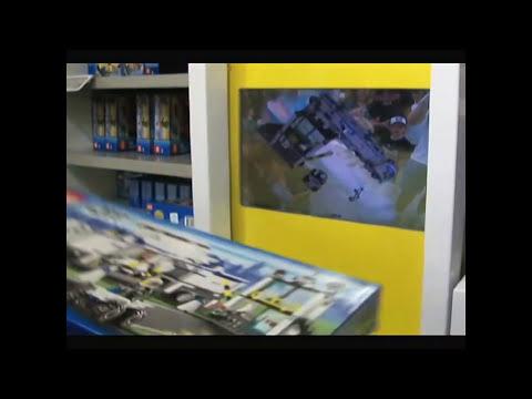Animated Lego Digital Box at Downtown Disney Orlando