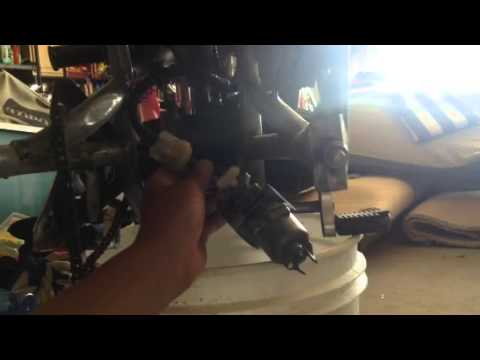 How to remove a carburetor on a pocket bike