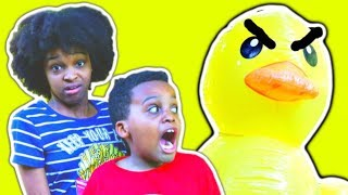 STICKY TAPE On Shasha and Shiloh! - Onyx Kids