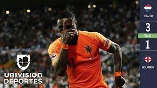 Holanda 3-1 Inglaterra - RESUMEN Y GOLES - Semifinales UEFA Nations League