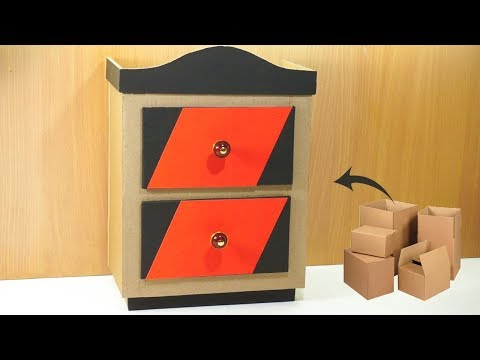How to make Cardboard furniture DIY very simple | DIY Crafts | Best out of waste
