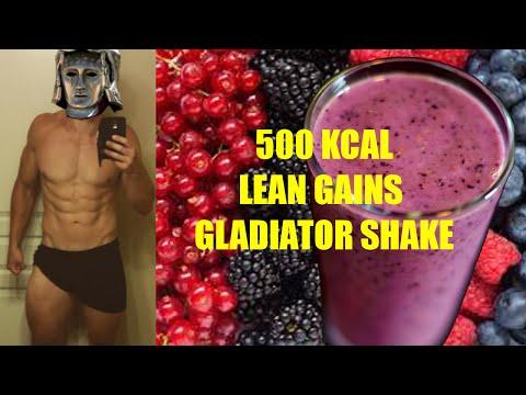 Gladiator 500 Calories Lean Gains Muscle Shake