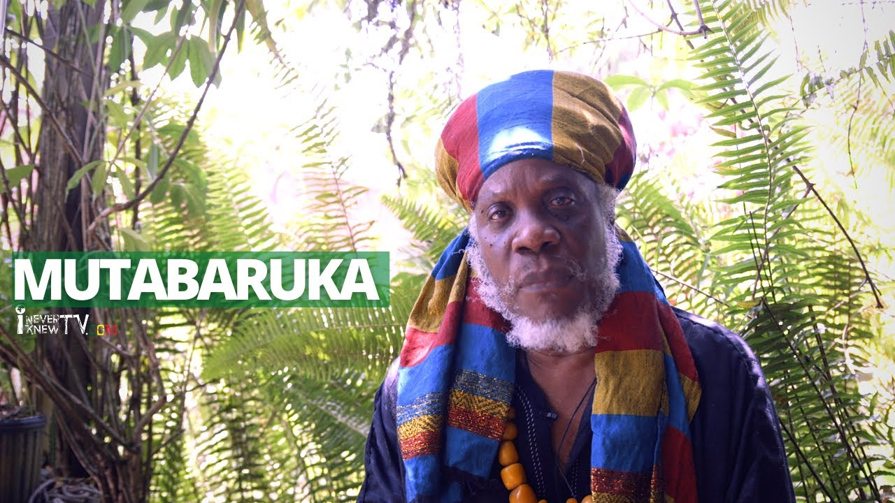 "Mutabaruka Speaks ""Black People Pray Too Much"""