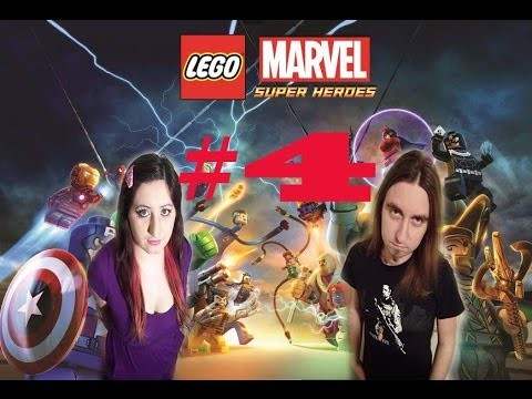 LEGO Marvel Super Heroes 100% Walkthrough Part 4: Rock Up at the Lock Up Story Mode, 2 Player