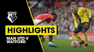 HIGHLIGHTS | MAN UTD 3-0 WATFORD
