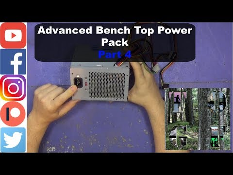Advanced Bench Top Power Pack  Part 4  Why Use a PSU? Wire's Explained