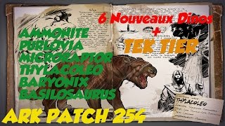 Amazing [ARK] Présentation PATCH 254 (TEK TIER + Dinos)