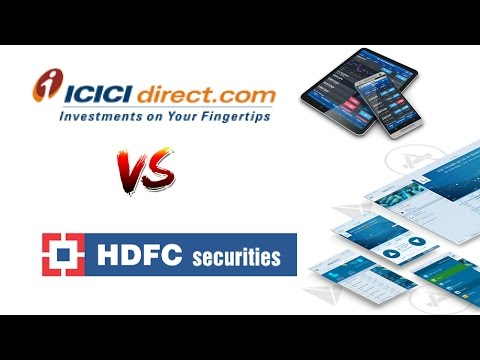 ICICI Direct Vs HDFC Securities - Detailed Comparison - Pricing, Platforms, Exposure