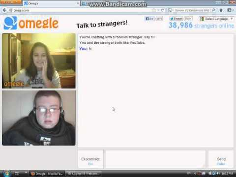 Omegle talk to strangers online