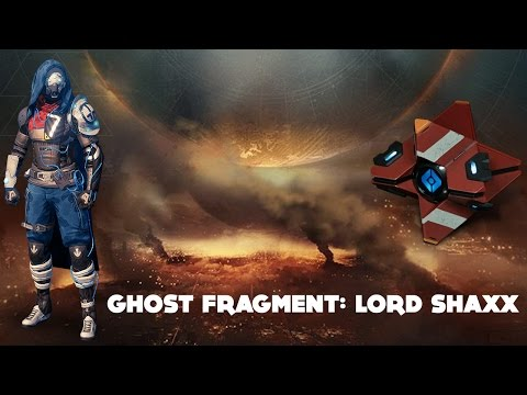 Ghost Fragment: Lord Shaxx (Destiny Dead Ghost Age of Triumph)