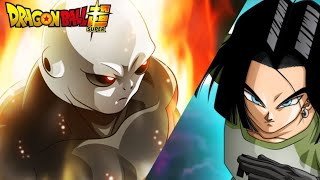 NO.17 successfully hits jiren and wounds him | Dragon ball super episode 127 eng sub