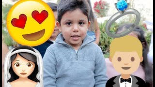 3 Year Old Boy Wants To Marry Reema...