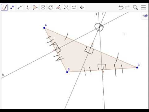 Finding/Making the Circumcenter for an Obtuse Triangle