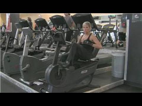 Gym Workout Tips : How to Exercise on a Stationary Bike