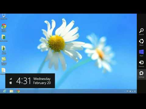 Windows 8: How to create a new User Account