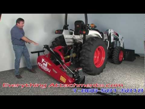 Feraboli Sickle Mower Available at Everything Attachments