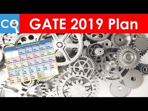 GATE 2019 Preparation Plan for Mechanical   BATMAN Plan