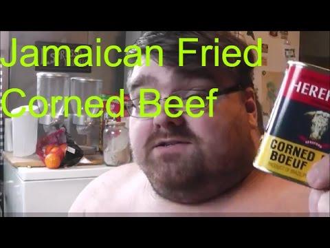 jamaican fried corned beef