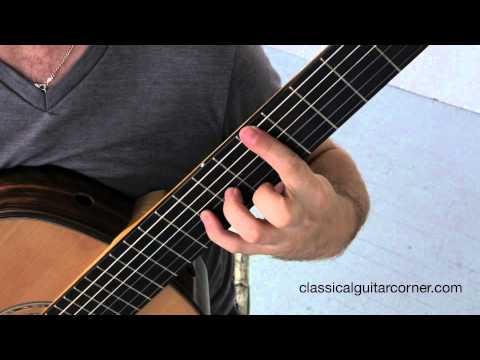 Fixed Fingers - Classical Guitar Exercise