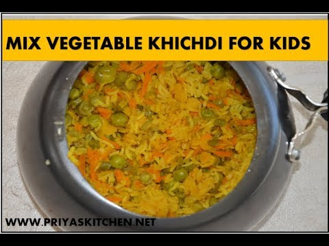 Mix Vegetable Khichdi For Infants,Toddlers,Kids-Vegetable Khichdi-Veg Khichdi for babies